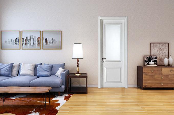 一定要选上一款简约实木复合门来布置家装!!
