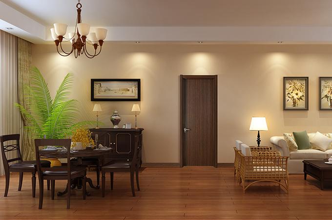 评定复合实木门质量时,油漆是必须考虑的!