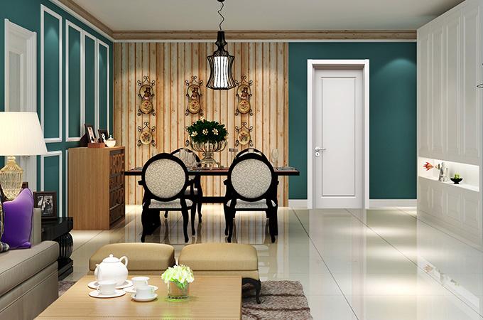 白色卧室门的优雅,一般材质学不来!