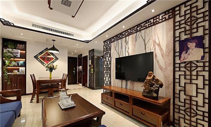 现代中式3居 融合自然舒适