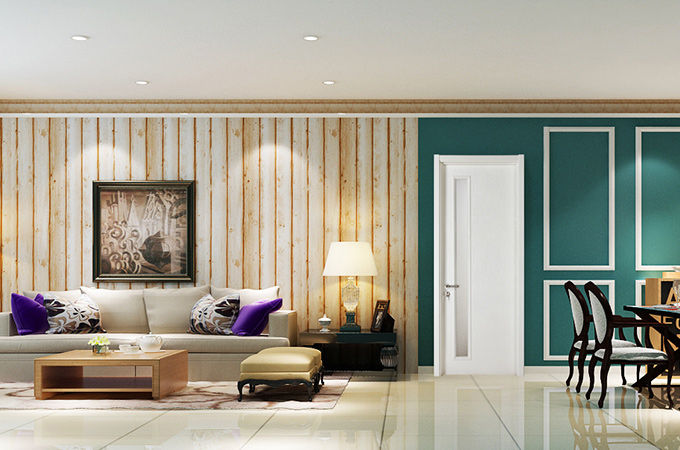 家装中,一定要选上一款优质的实木复合门