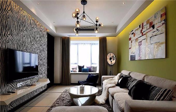 现代简约空间 放松休闲的家