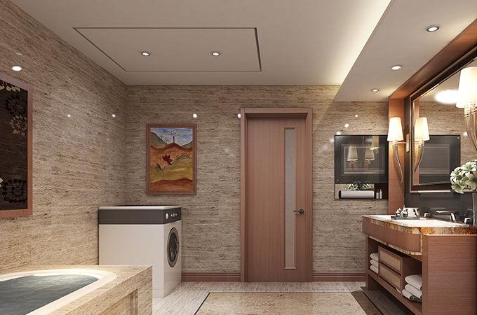 卫生间门怎么搭配?从家装整体上来看