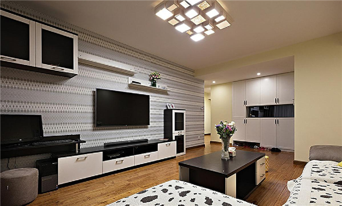 装修要大气  现代简约3居室