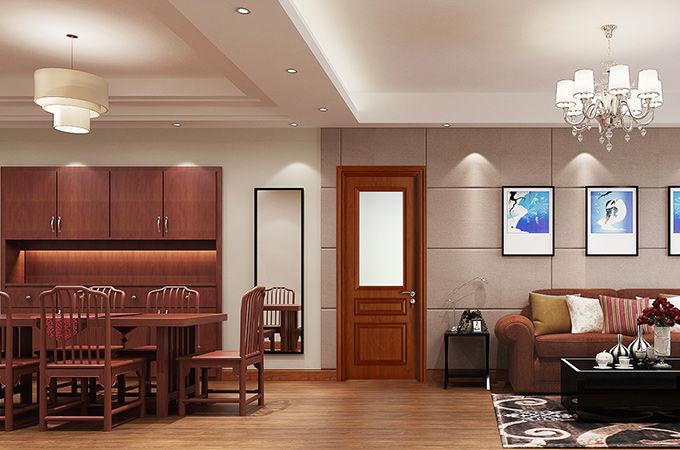 家装整体的美,还需要优质的实木复合门来展现