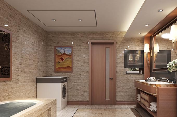 喜欢玻璃材质的卫生间移门?那你应该这样选。