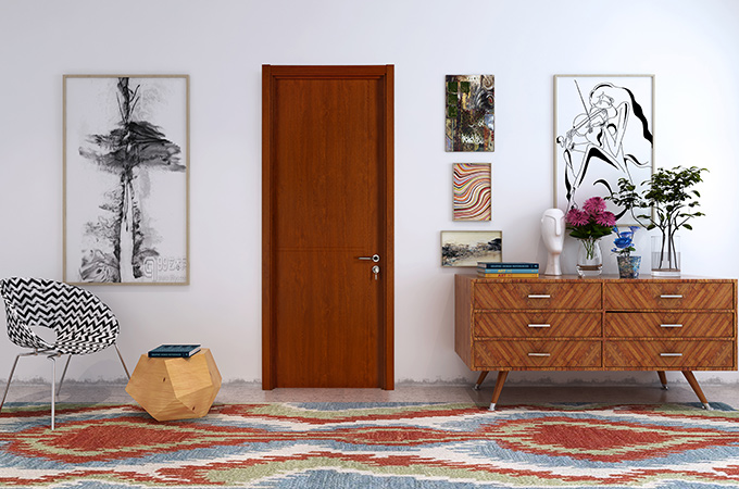 实木复合门木门不同材质的相关特点介绍!