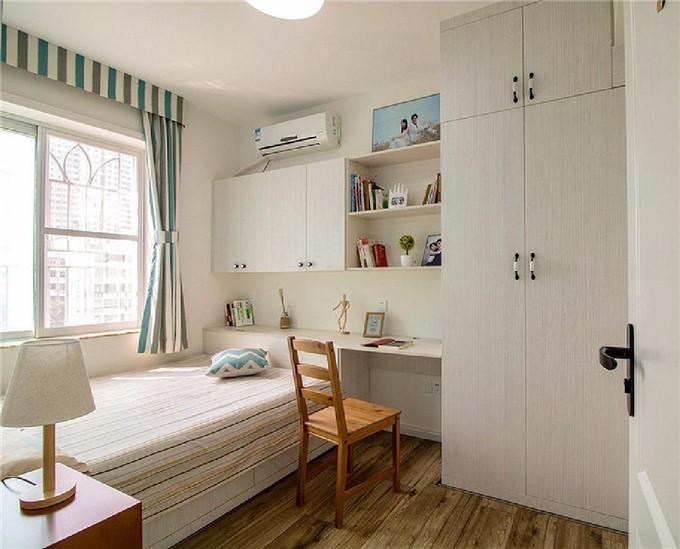 暖色系温馨 现代简约3居室