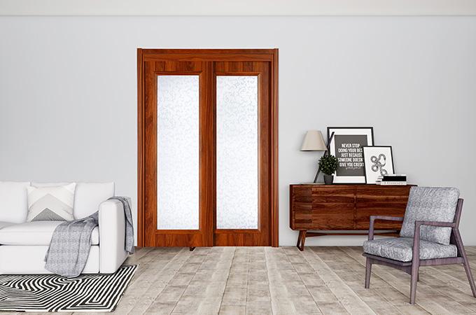 木质卧室推拉门的保养,要从材质上说