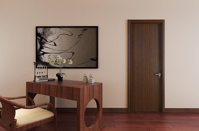 即使实木复合门使用了胶,也并不代表不环保。