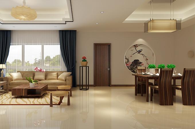 白色木门与粉色家装的相遇,开启了属于家空间的一份轻松舒适