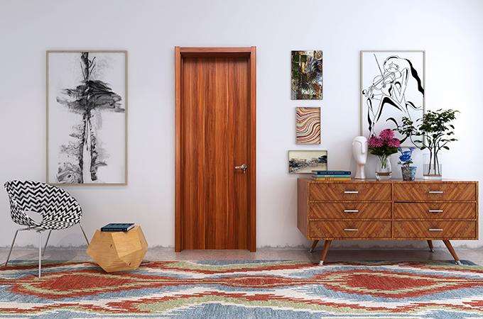 派的门·木门安装案例讲解