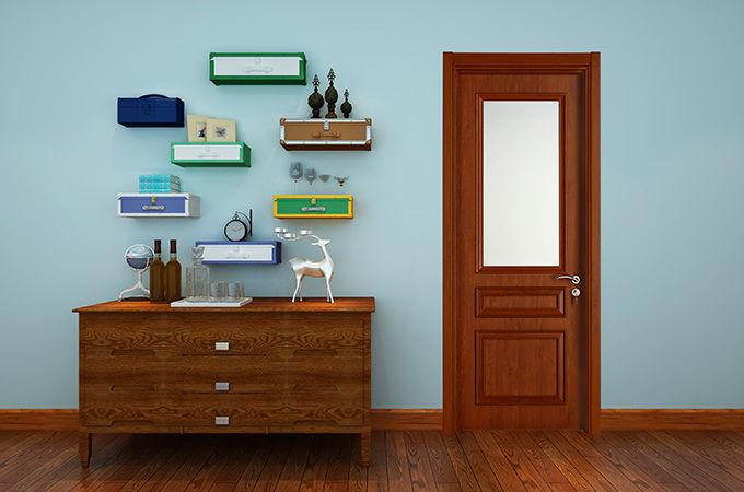 优质的家装,千万不要忽略实木复合门选购上的事