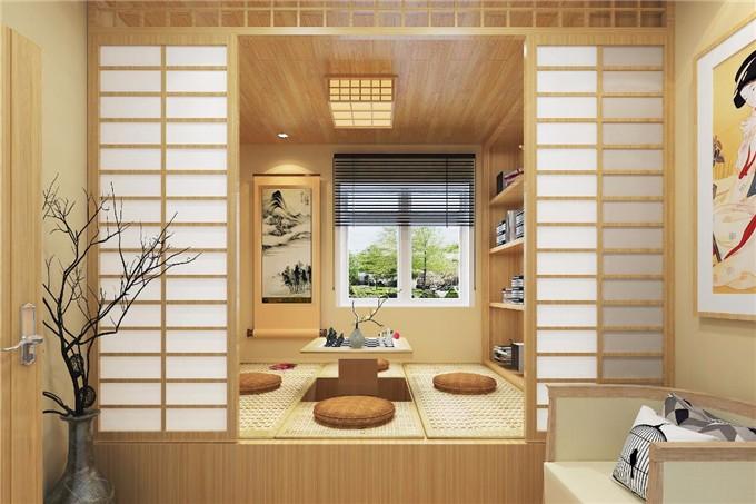 80平米-日式混搭风格