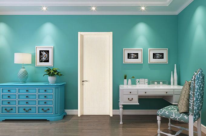 温和主义者家装,最适合的室内门当然是这样的