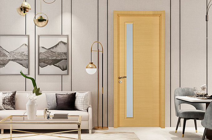 选与居室装饰格调相一致的木门,将会令居室增色不少。