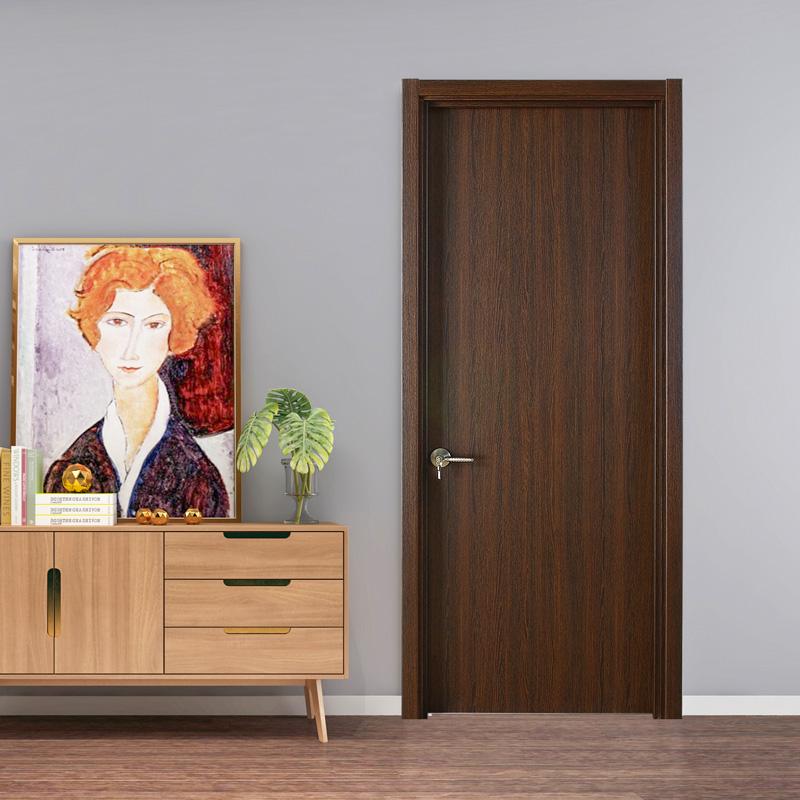 派的门:花型多变的实木复合门,正符合现代人视觉观的需求