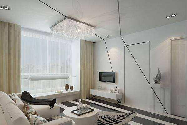 隐形复合平板门装饰,展现绝妙空间艺术感