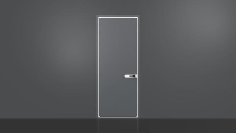 新品无界系列平板门