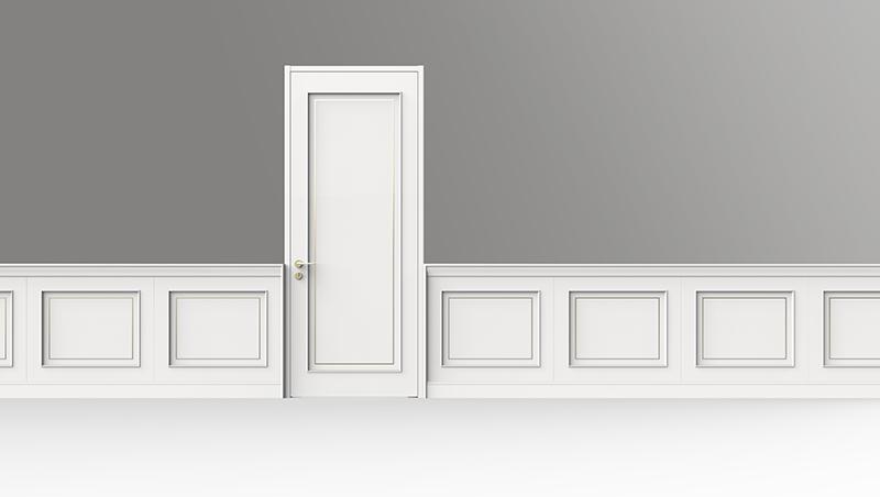 门板造型=护墙板造型
