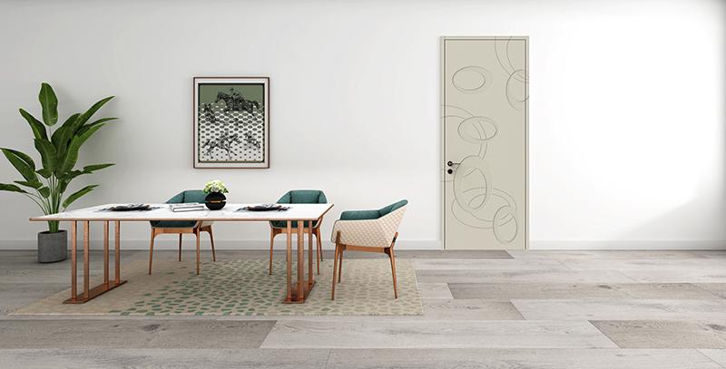实木复合门板材刨花板与颗粒板有什么不同?