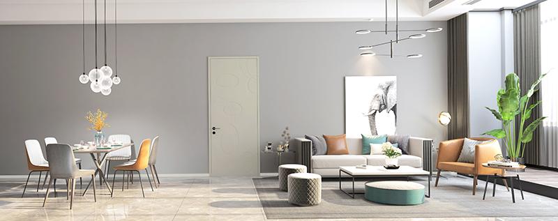 平板门与家居装修空间搭配的一原则三技巧