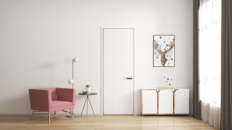 欧式风格平板门如何搭配室内家装?