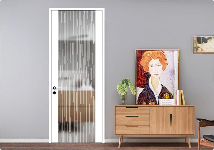 家居平板门与玻璃的功能结合