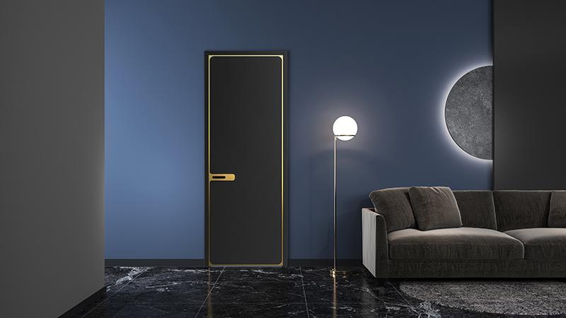 """平板门的颜色选择如何搭配""""三形态""""室内装饰"""