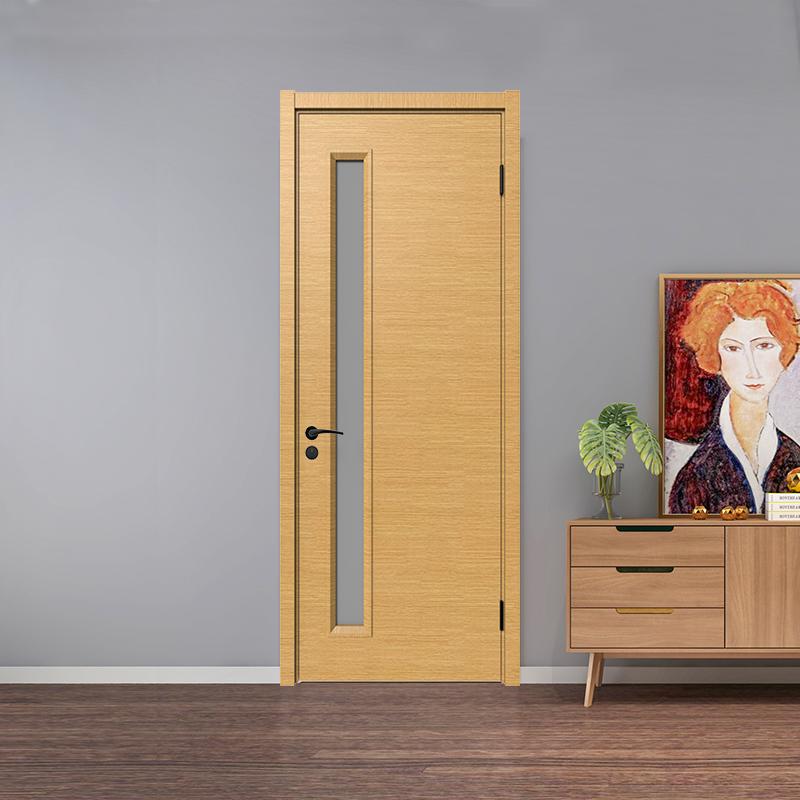 玻璃实木复合门的品质主要是有芯材决定的