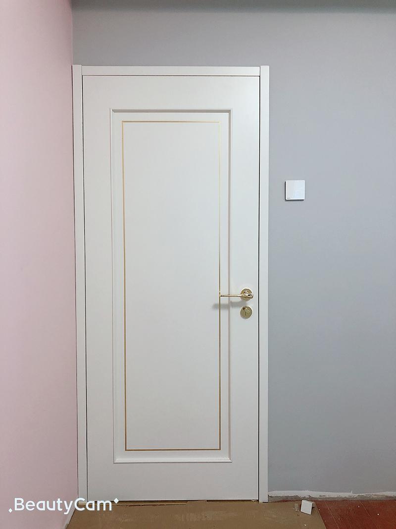 派的门2019新品体验官木门安装实景拍摄(一)