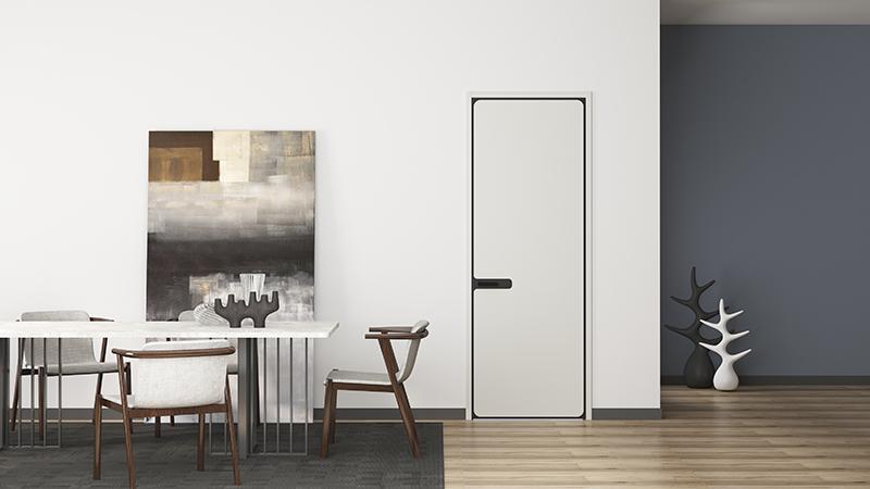 家里面平板门的风格样式,可以反映出业主的个性