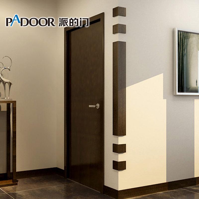 平板门木质护角的安装方法