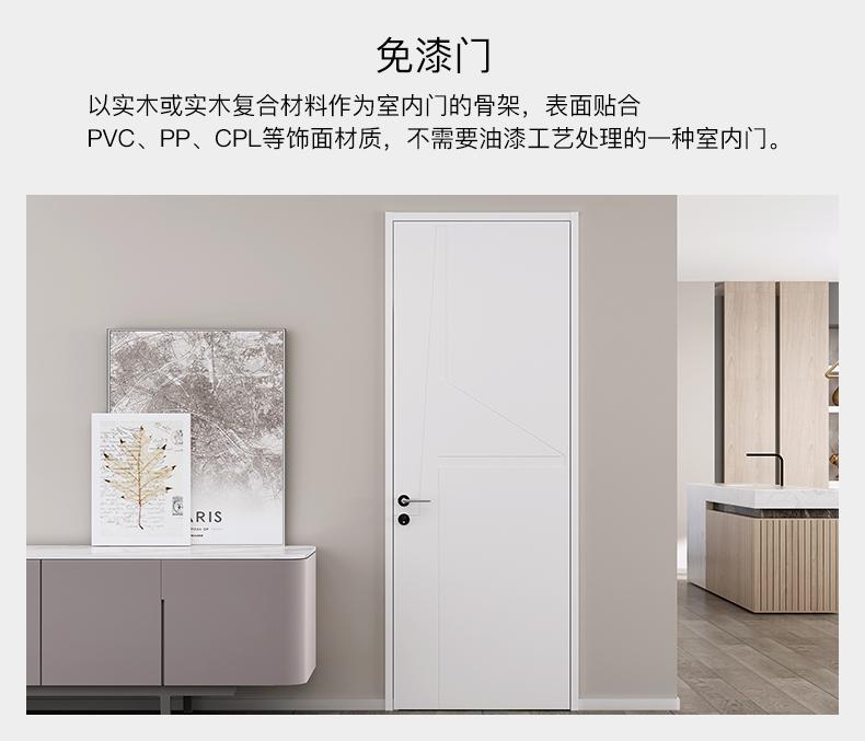 市场上的免漆门和油漆门有哪些区别?